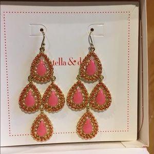 Pink Seychelles Earrings - Stella & Dot